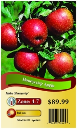 <h5>Honeycrisp Apple</h5><p>hang tag</p>