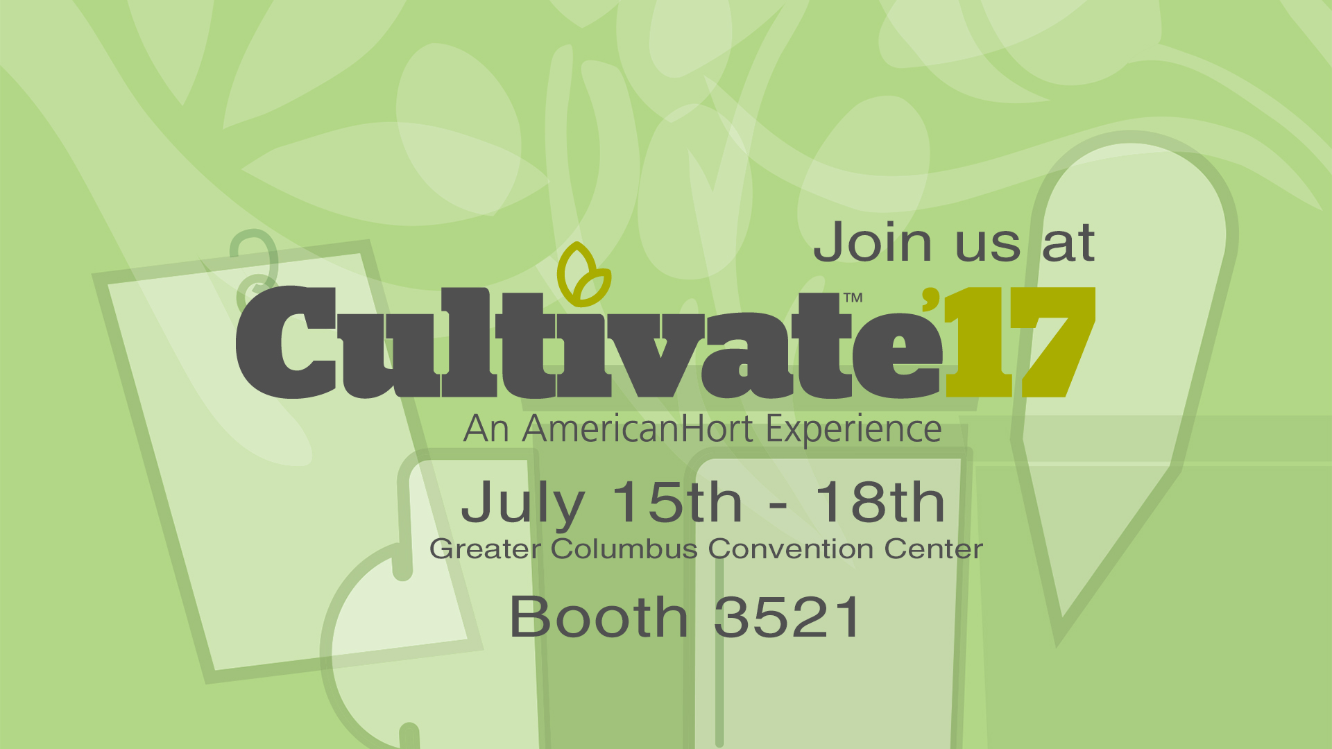 Join Hip Labels at Cultivate 17, Booth 3521